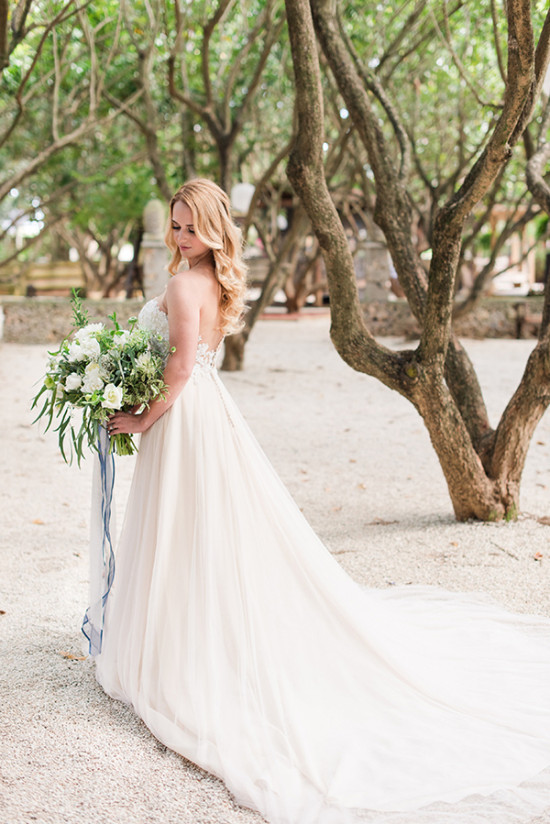 wedding dress from Brides of Florida