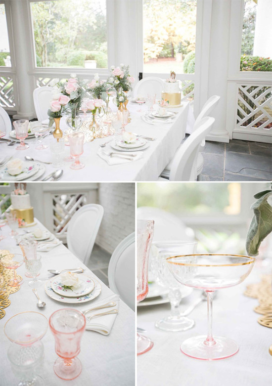 engagement party table ideas