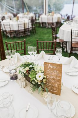 Refined Woodsy Wedding