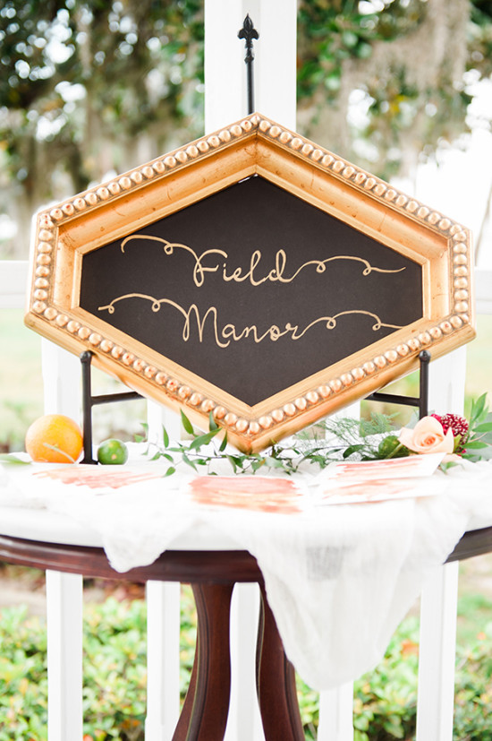 Chalkboard sign ideas