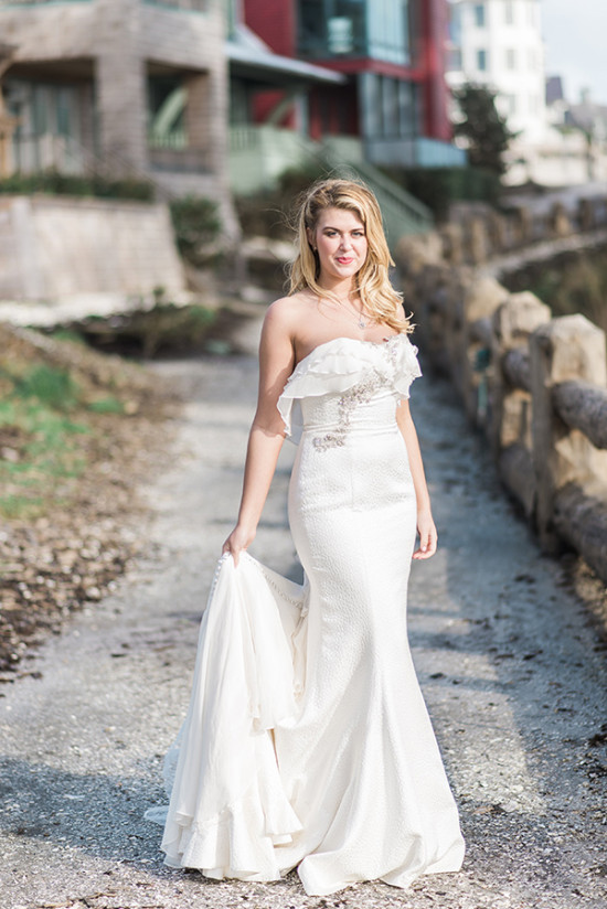 wedding dress from MeaMarie Bridal