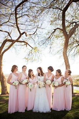 Sweet and Classic Pink Rose Wedding