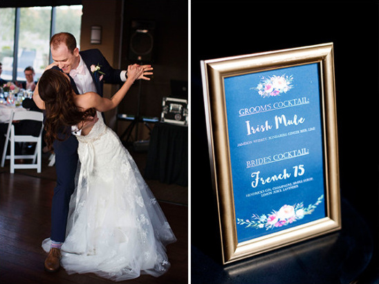first dance and bar menu