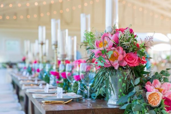 Pretty Pink Tennessee Wedding