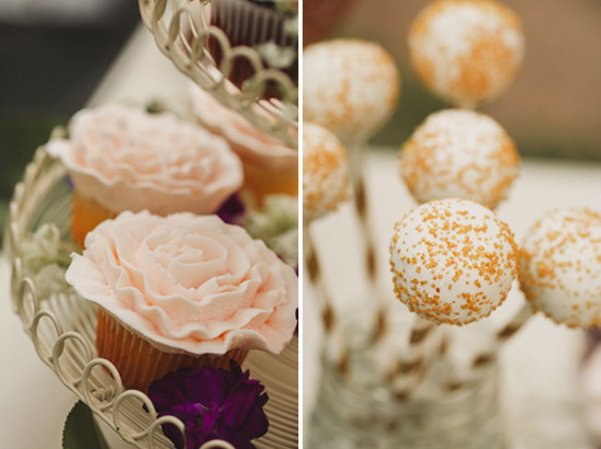 cupcakes and cake pops for your dessert table