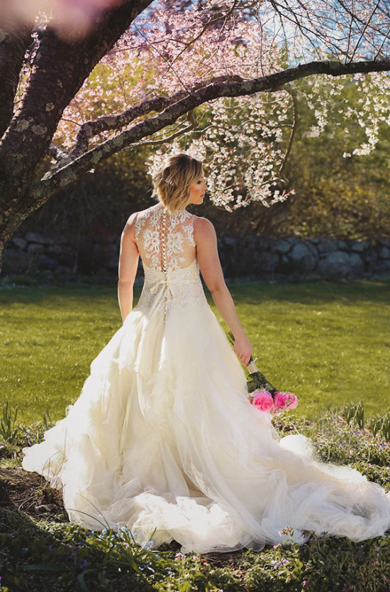 sweet wedding dress from Ever After Bridal Inc