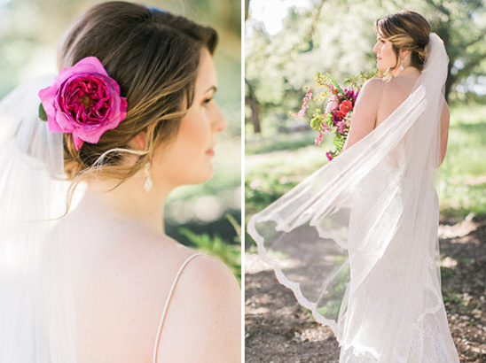 Bridal hair and details