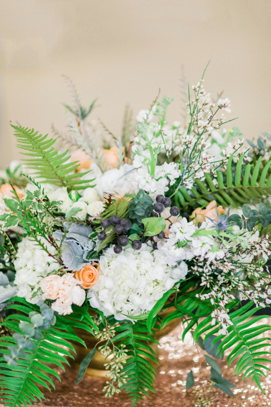 Industrial Chic Pantone Inspired Wedding Ideas