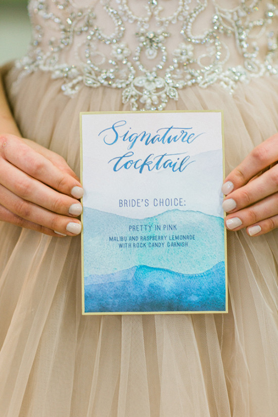 signature cocktail for her
