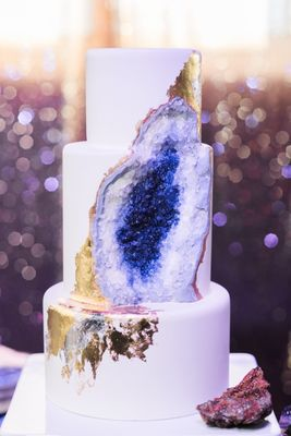Geode Inspired Wedding