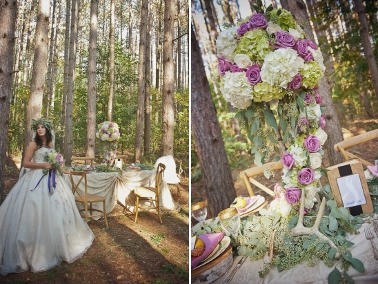 fairytale reception idea