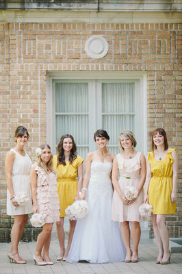 Shabby Chic DIY Wedding at the Mansfield Art Center