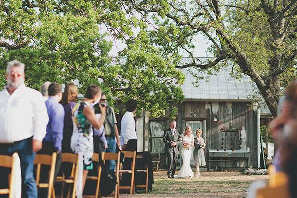 Rustic Pink Wedding at Three Points Ranch
