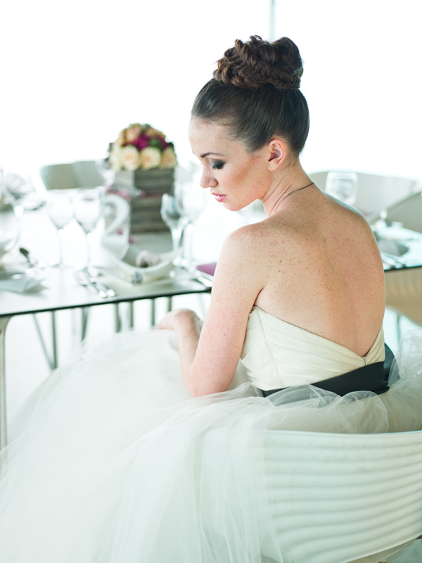 Contemporary Wedding Inspiration with an Architectural Twist