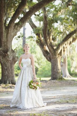 Shady Louisiana Bridal Session