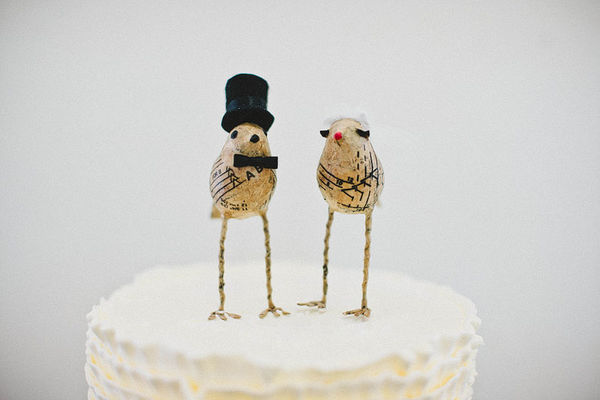 Cake Stands And Cake Toppers From Your Cloud Parade
