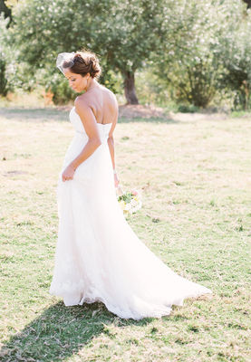 Rustic Coral Wedding at Holland Ranch