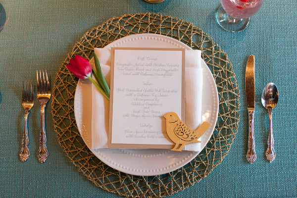 Mint, Pink and Gold Wedding Ideas