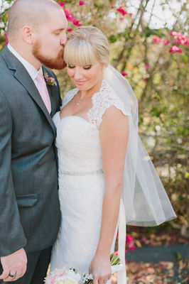 San Diego Light Pink And Gray Wedding