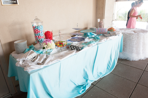 Breezy Beach Wedding in Turquoise and Pink
