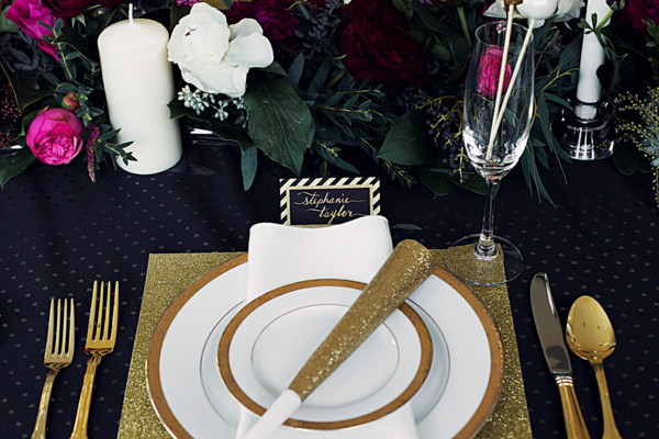 New Year's Eve Wedding Inspiration