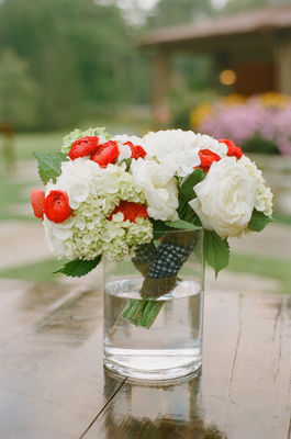 Red, White and Blue Southern Wedding