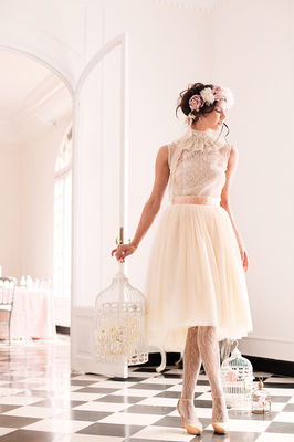 Pink and White Ethereal Wedding Inspiration
