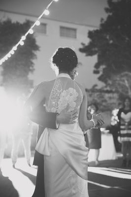 1940s Inspired Relaxed California Wedding
