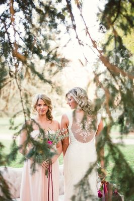 Romance in the Woods Wedding Inspiration