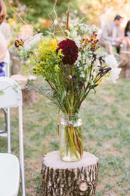 Outdoor Romance Wedding