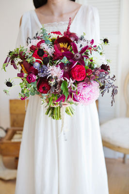 Bright Bold Berry Wedding