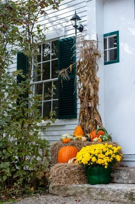 New England Wedding Venue + Autumn Wedding Ideas