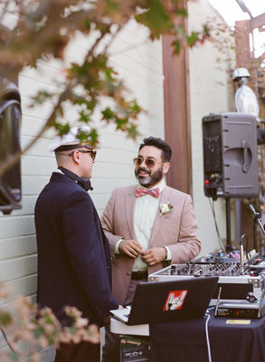 Vintage Eclectic California Wedding