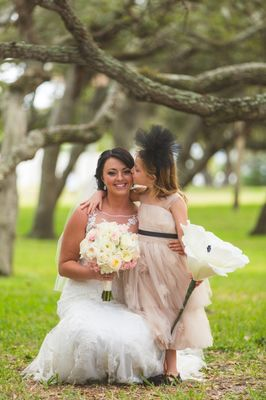 Florida Shabby Chic Black Tie Wedding