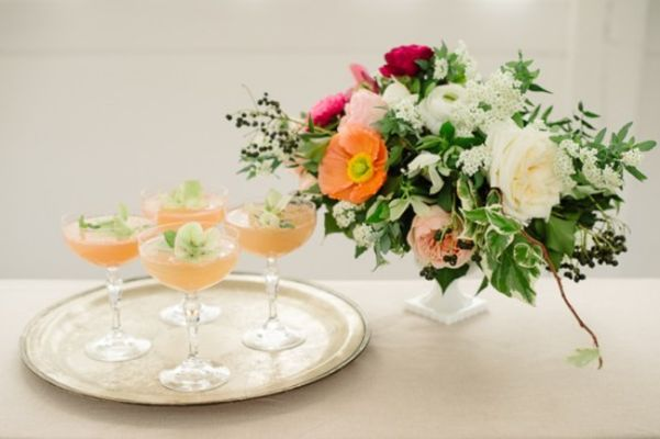 Spring Bridal Shower And Cocktails