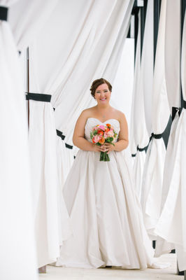 Bright And Colorful Florida Panhandle Wedding