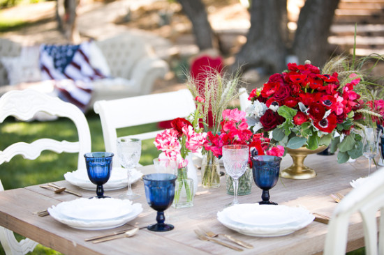 Gallery Red White And Blue Wedding Ideas