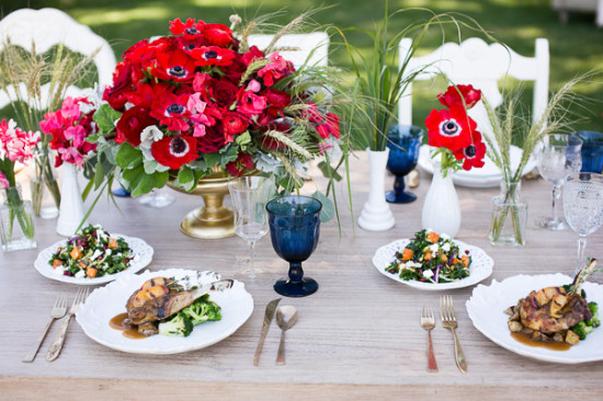 Red White And Blue Memorial Day Wedding Ideas My Hotel Wedding
