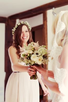 Heart Filled Rustic Wedding In England