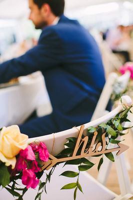 A Bright And Colorful Greece Wedding