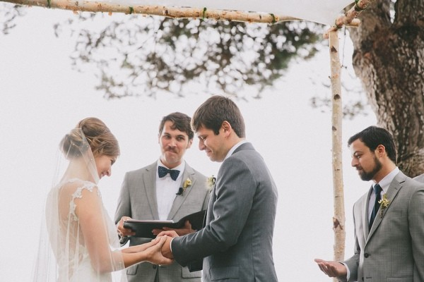 Rainy Big Sur Wedding