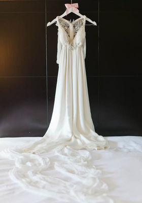 Wedding with Hand Stitched Details
