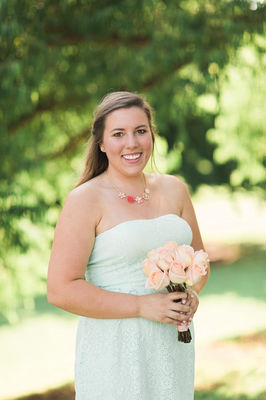 Oklahoma Peach and Mint Succulent Wedding Day