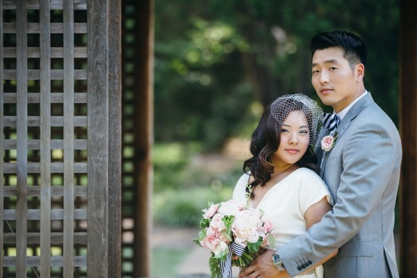 Stylish Striped Virginia Wedding