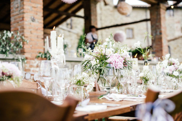 Charming Garden Wedding in Tuscany
