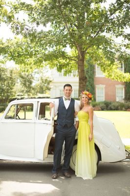 Bold Bright Dallas Wedding