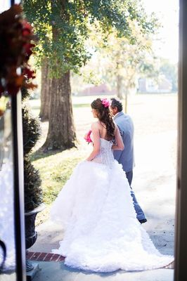 Outdoor Wedding with Bright Color Palette
