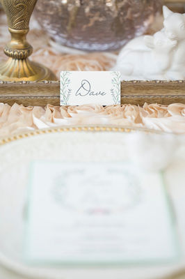 Soft And Chic Fall Wedding