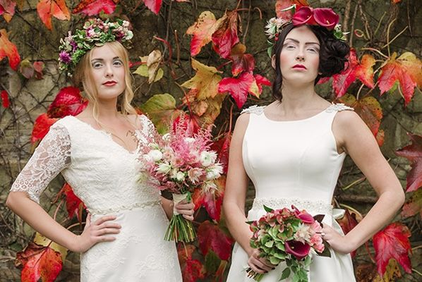 Four Beautiful Winter Bridal Looks