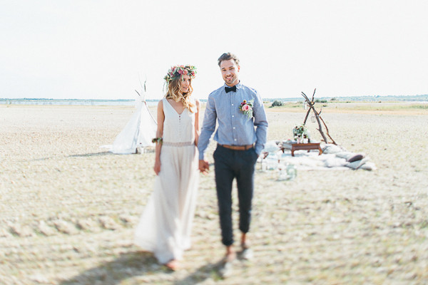 Natural Desert Wedding Ideas